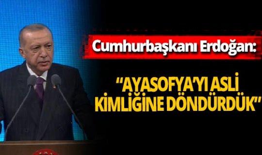 """Cumhurbaşkanı Erdoğan: """"Kurallara uymamak kul hakkına girmektir"""""""