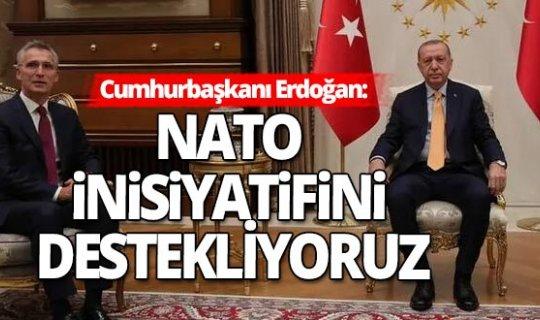 Cumhurbaşkanı Erdoğan - NATO Genel Sekreteri arasında kritik görüşme