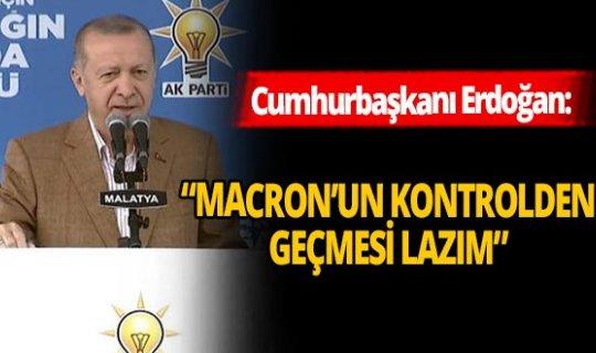 """Cumhurbaşkanı Erdoğan: """"Şu an Fransa'nın başındaki zat şaşırmış"""""""