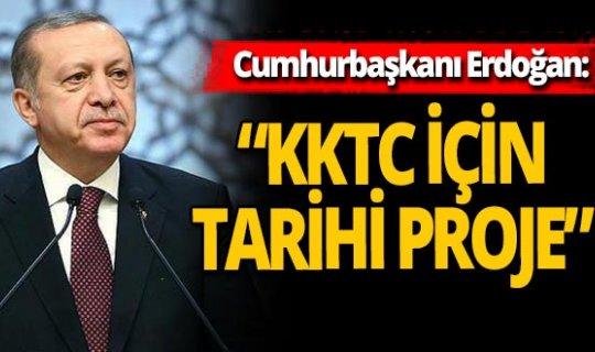 """Cumhurbaşkanı Erdoğan: """"Yaparız dedik, yaptık"""""""