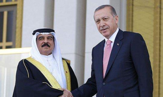 Cumhurbaşkanı Recep Tayyip Erdoğan Bahreyn Kralı Hamad Bin İsa El Halife ile görüştü