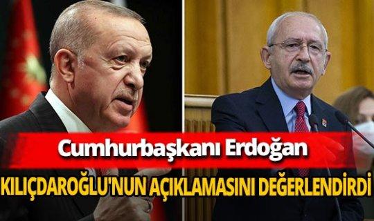 Cumhurbaşkanı Recep Tayyip Erdoğan'dan Kemal Kılıçdaroğlu'nun adaylık açıklamasına ilk yorum