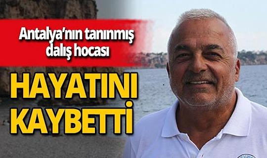 Dalış hocası Mehmet Cumhur Tuğ koronavirüs nedeniyle yaşamını yitirdi