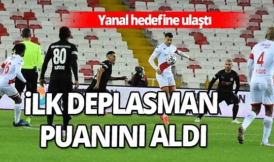 Demir Grup Sivasspor - Fraport TAV Antalyaspor maçı sona erdi