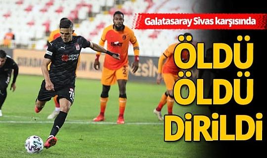 Demir Grup Sivasspor - Galatasaray maçı sona erdi