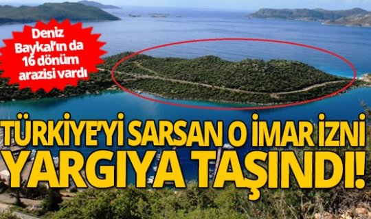 Deniz Baykal'ın da 16 dönüm arazisi vardı