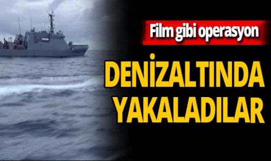 Denizaltıyla operasyon! 60 milyon dolarlık uyuşturucu yakalandı