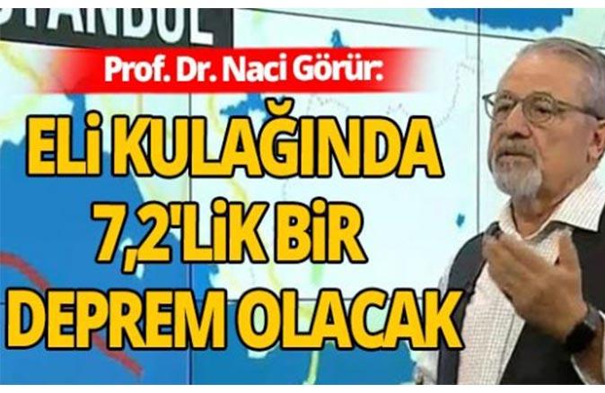 Prof. Dr. Naci Görür'den depremi uyarısı!