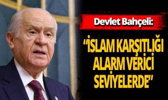 """Devlet Bahçeli: """" Türkiye Cumhuriyeti sokakta kurulmadı"""""""