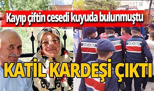 Dinar'da kaybolan Zeliha Uysal ve Cevdet Uysal çiftinin cesetlerinin kuyuda bulunmasına ilişkin iki kişi tutuklandı