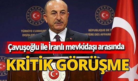 Son dakika! Dışişleri Bakanı Mevlüt Çavuşoğlu İranlı mevkidaşı ile görüştü