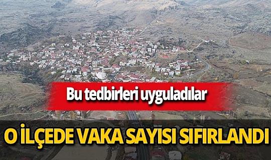 Diyarbakır'ın Çüngüş ilçesinde vaka sayıları sıfırlandı