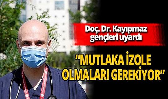 """Doç. Dr. Afşin Emre Kayıpmaz: """"65 yaş üstü kişilerin günlük yaşamında içinde aktif olan kişilerle karşılaşmaması lazım"""""""