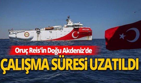 Doğu Akdeniz'de yeni NAVTEX ilan edildi