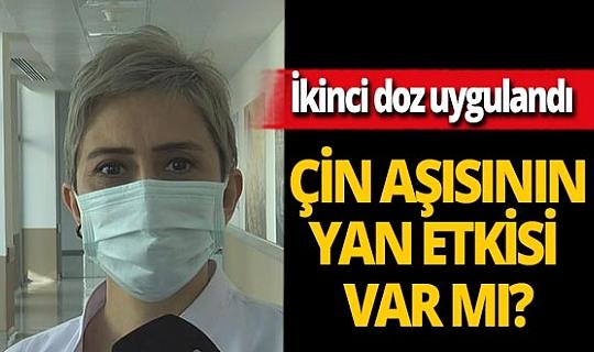 """Dr. Ayşin Kılınç Toker: """"Çin aşısının ikinci dozu sonrası yan etki görülmedi"""""""