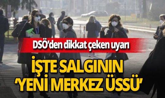 """DSÖ: """"Salgının 'yeni merkez üssü' Avrupa kıtası"""""""