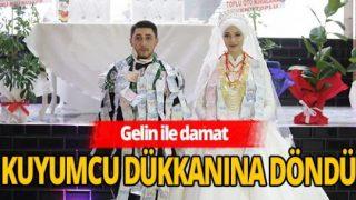 Düğünde '40 dakikada 1Milyon TL' takıldı
