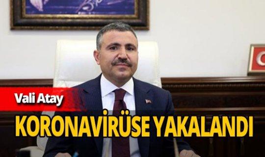Düzce Valisi Cevdet Atay koronavirüse yakalandı