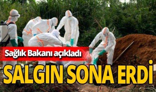 Ebola salgınının sona erdiği duyuruldu!
