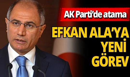 AK Parti'de atama: Efkan Ala ve Cevdet Yılmaz'a yeni görev