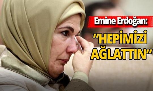 Emine Erdoğan'dan Ayda bebek mesajı