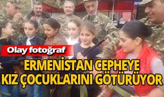 Ermenistan cepheye çocuk asker götürüyor!