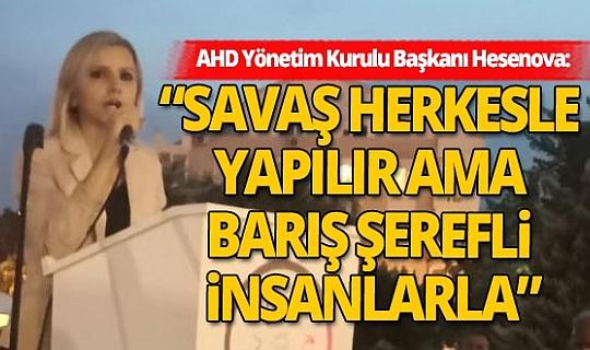 Antalya'daki AHD üyelerinden Ermenistan'ın Azerbaycan'a yönelik saldırılarına sert tepki