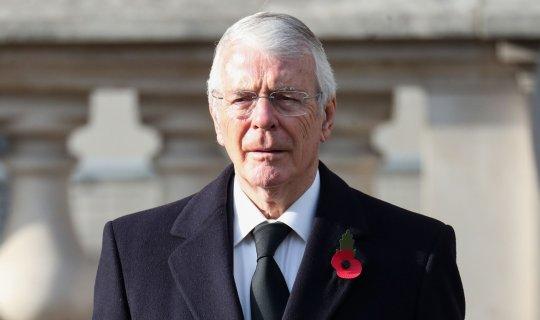 """Eski Başbakan John Major'dan olay açıklama: """"Artık büyük güç değiliz"""""""