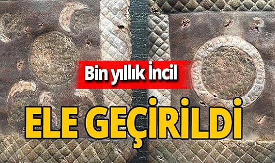 Eskişehir'de 1000 yıllık İncil ele geçirildi!