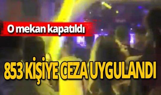 Eskişehir'de sosyal mesafesiz eğlence pahalıya patladı!