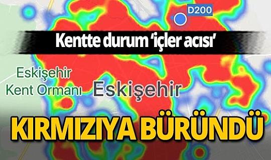 Eskişehir'in HES uygulamasındaki risk haritası kırmızıya boyandı