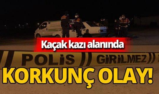 Eskişehir'de kaçak kazı alanında patlayıcı infilak etti! Arkadaşları Mehmet S.'yi darp ederek öldürdü