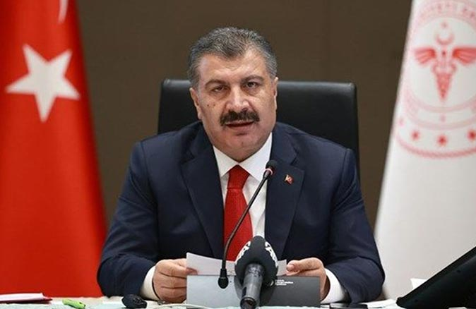 Sağlık Bakanı Fahrettin Koca illerinin son durumuna ilişkin bilgi verdi