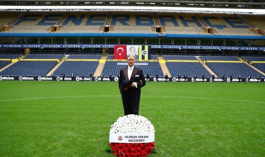Fenerbahçe'den Atatürk için saygı zinciri