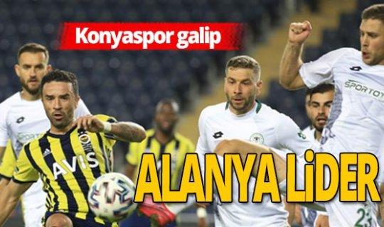 Fenerbahçe - Konyaspor maçı sona erdi!