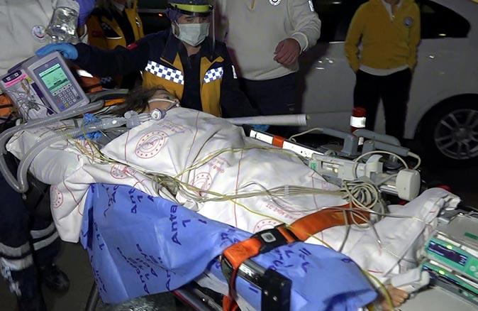 Antalya'da kaynayan süt kazanına düşen Feride Merdun ağır yaralandı