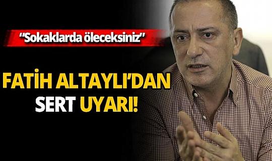 Gazeteci Fatih Altaylı'dan korkutan koronavirüs açıklaması!