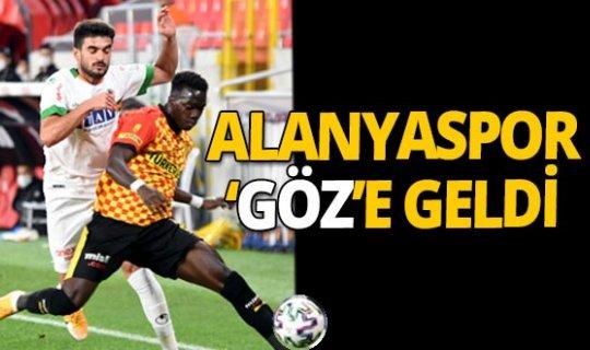 Göztepe - Aytemiz Alanyaspor maçı sona erdi