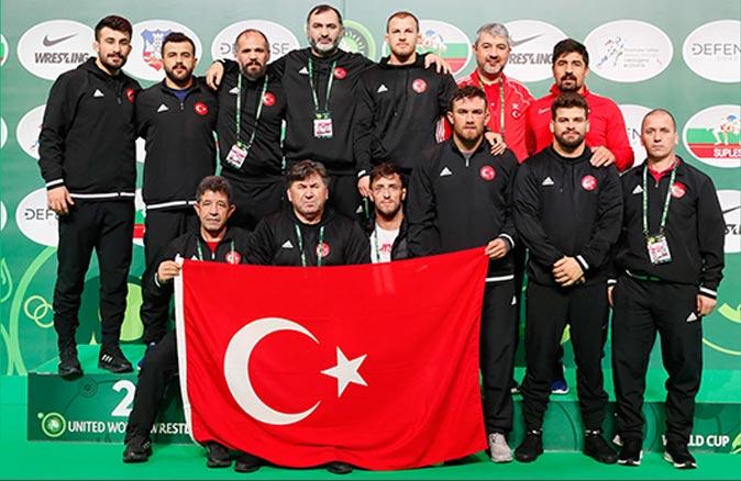 Serbest stilde Türkiye, Dünya ikincisi