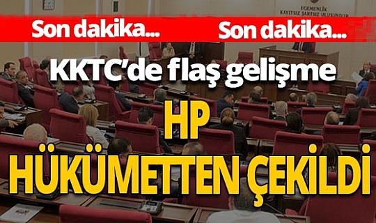 Halkın Partisi'den hükümetten çekilme kararı