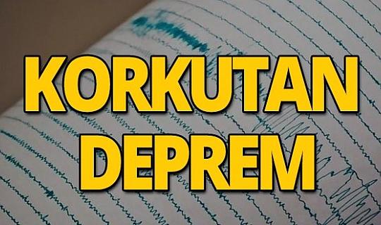 Hekimhan'da 3,3 büyüklüğünde deprem