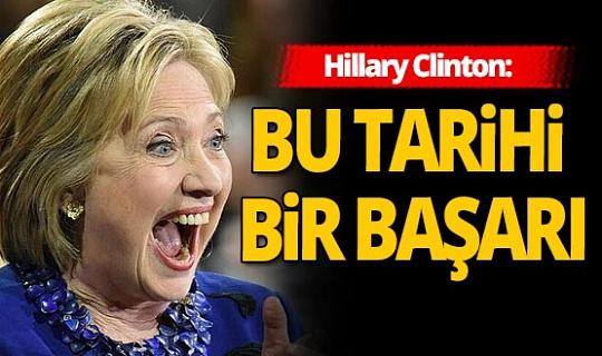 Hillary Clinton seçimi yorumladı!