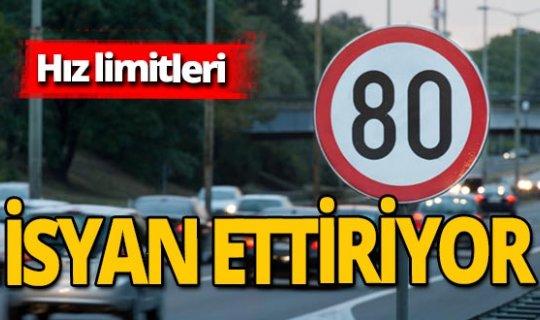 Hız limitleri vatandaşı canından bezdirdi