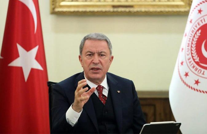 Bakan Hulusi Akar'dan 'Yunanistan' açıklaması: 'Gerçekleri saptırmaya devam ediyor'