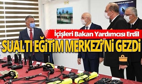 İçişleri Bakan Yardımcısı Prof. Dr. Tayyip Sabri Erdil, Antalya'ya geldi