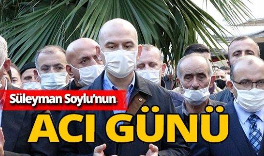 İçişleri Bakanı Süleyman Soylu'nun acı günü!