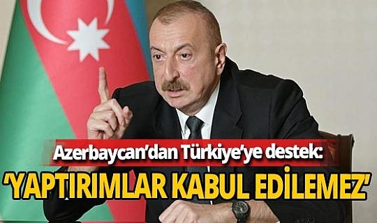 İlham Aliyev'den ABD'nin Türkiye'ye S-400 yaptırım kararına tepki