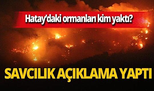 İskenderun Cumhuriyet Başsavcılığı'ndan ilçedeki yangın ile ilgili flaş açıklama