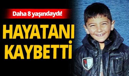 Isparta'da evde kalp krizi geçiren 8 yaşındaki Mahmut, kurtarılamadı