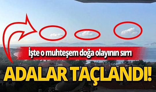 İstanbul'da adalar taçlandı